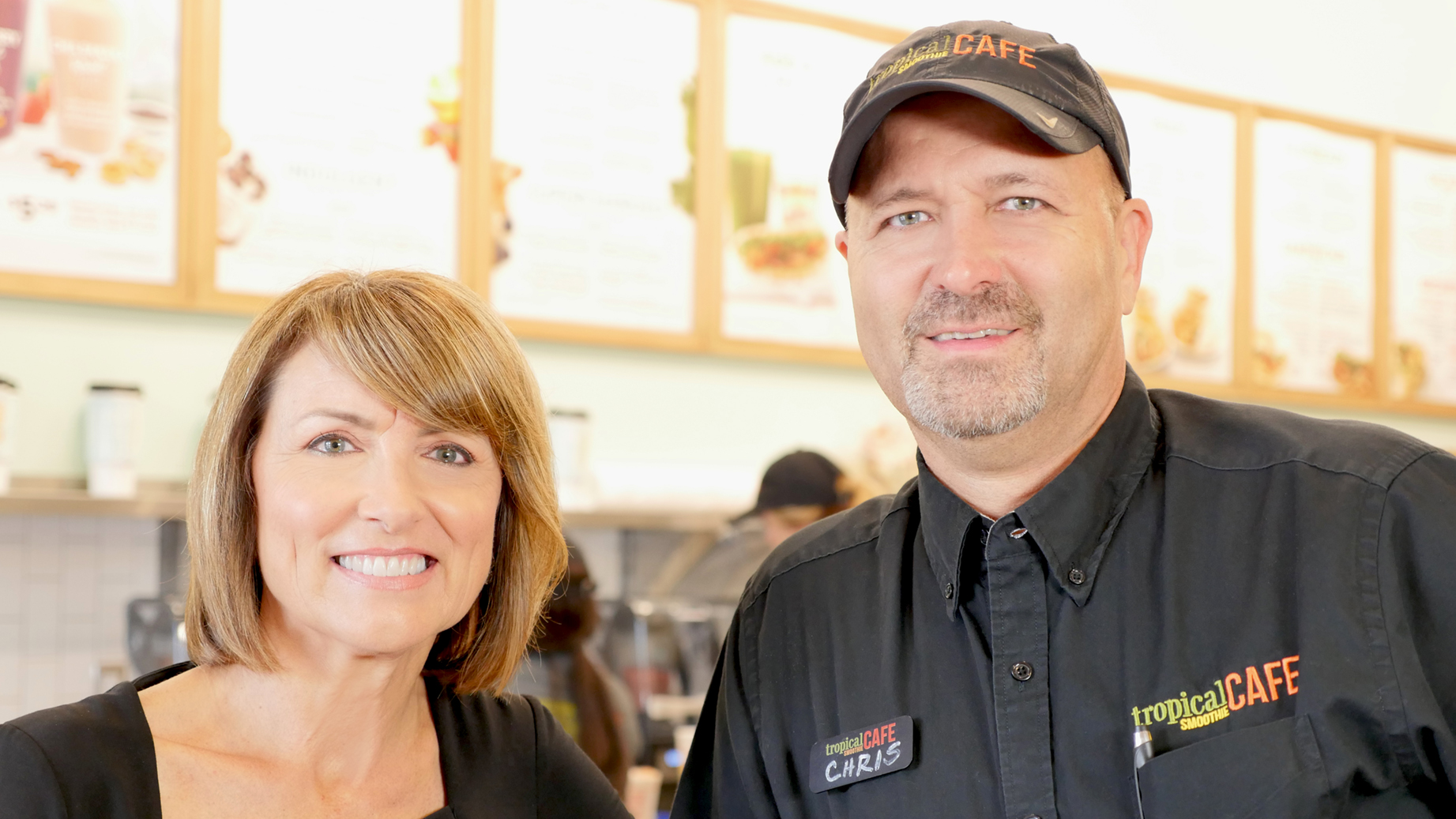 Chris and Debbie Pike