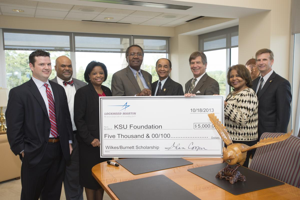 Lockheed Martin supports KSU scholarships